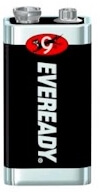 Eveready 1222 Best 9V Batteries for Smoke Detectors