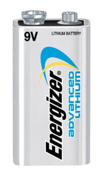 LA522 Energizer Best Lithium 9V Battery for Smoke Detectors