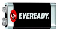Eveready 1.5V Super Heavy Duty 9V Batteries