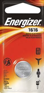 Energizer CR1616 Lithium Coin Cell Battery