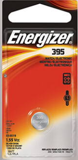 Energizer 395-399 Silver Oxide Coin Cell Battery
