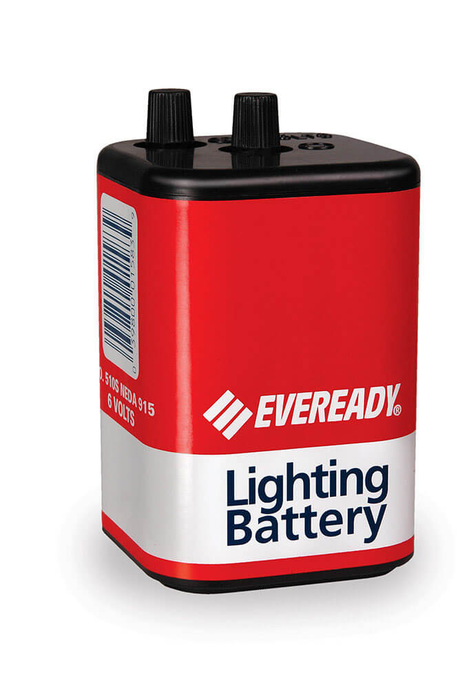 Eveready 510s 6V Screw-Top Super Heavy Duty Batteries
