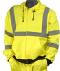 Majestic Class 3 High-Visibility Hoodie Sweatshirt