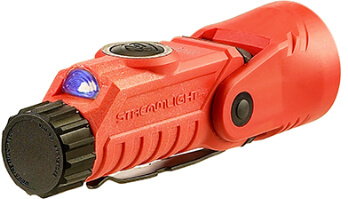 Vantage 180 88900 Helmet/Right-Angle Multi-Function Flashlight -Orange