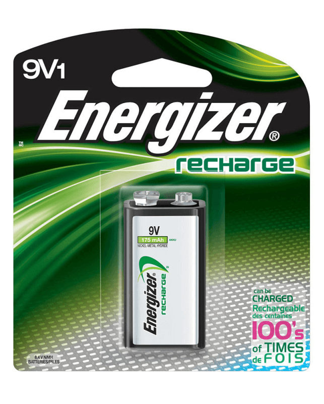 9V Rechargeable Batteries for Sale