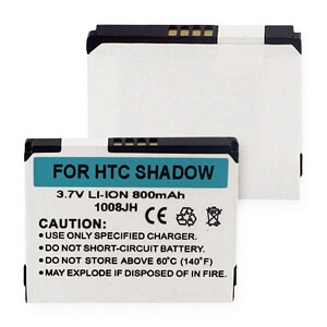 HTC SHADOW LI-ION 800mAh