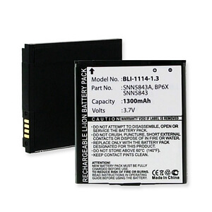 MOTOROLA DROID PRO A855 3.7v 1300mAh LI-ION BATTERY