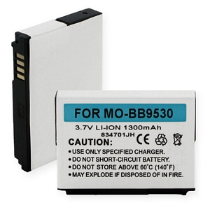 BLACKBERRY 9530/STORM LI-ION 1300mAh