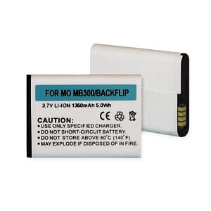 MOTOROLA MB300/BACKFLIP LI-ION 1350mAh