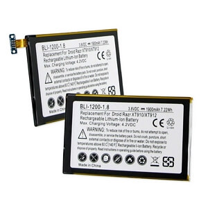 MOTOROLA DROID RAZR XT-912 3.7V 1900mAh LI-ION BATTERY