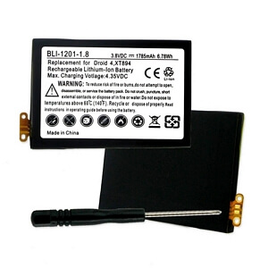 MOTOROLA EB41 3.8V 1785mAh LI-ION BATTERY WITH TOOLS