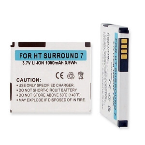 HTC SURROUND LI-ION 1050mAh