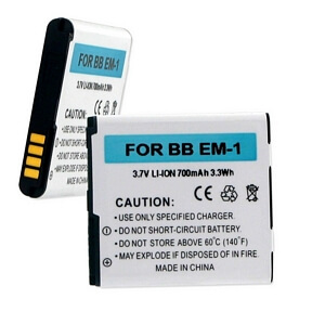 BLACKBERRY E-M1 3.7V 1000mAh LI-ION BATTERY