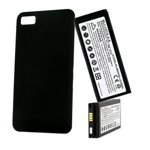 BLACKBERRY Z10 3.7V 3600mAh LI-ION EXTENDED BATTERY W/ COVER
