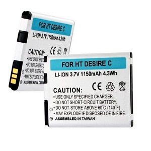 HTC DESIRE C PL01200 PL01210 3.7V 1150mAh LI-ION BATTERY