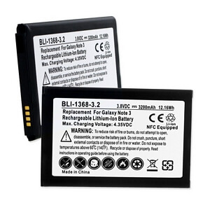 SAMSUNG GALAXY NOTE 3 N9000 3.8V 3.2Ah LI-ION NFC BATTERY
