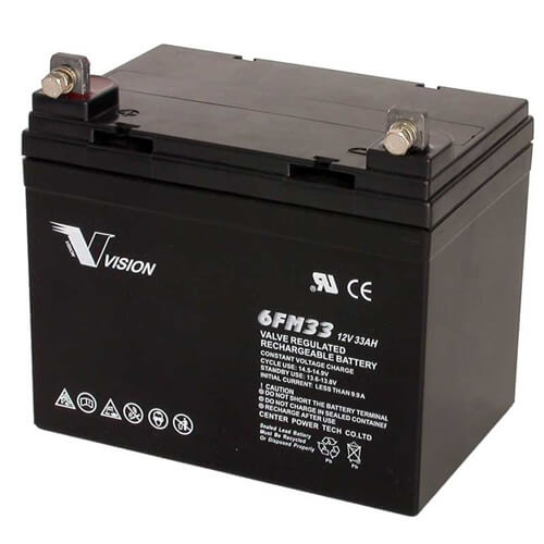 PS12330, 6FM33U1, Sealed Lead Acid Battery