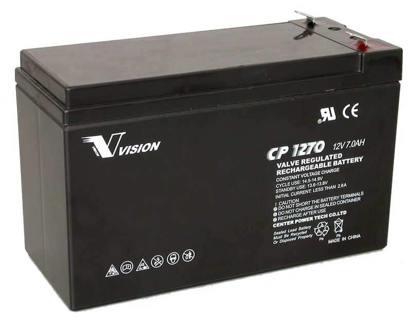 PS1270, CP1270, Sealed Lead Acid Battery