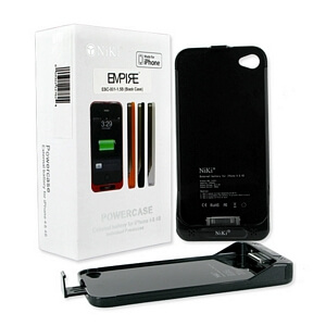 official photos 1d85d 0a904 APPLE IPHONE 4 / 4S EXTERNAL BATTERY CASE 1500mAh LI-POL