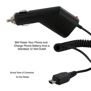 MOTOROLA RAZR V3 CAR CHARGER