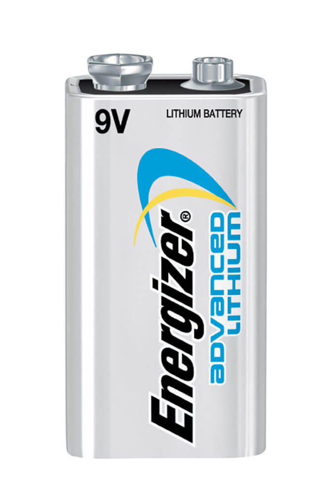 Energizer 9V Advanced Lithium Batteries