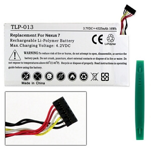 GOOGLE NEXUS 7 C11-ME370T 3.7V 4325mAh LI-POL BATTERY