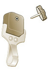 Gear Keeper Add-A-Clip Stainless Steel Snap Clip
