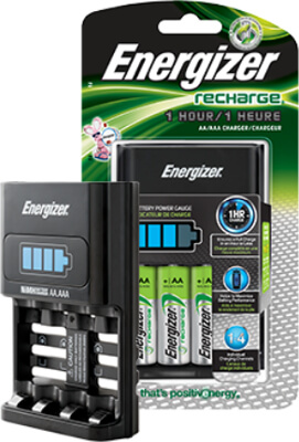 Energizer AA & AAA NiMH battery charger