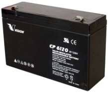 PS6100, CP6120, Sealed Lead Acid Battery