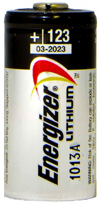 Energizer 123A Photo Lithium Battery