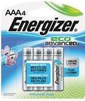 Energizer EcoAdvanced™ AAA Batteries - 4Pk