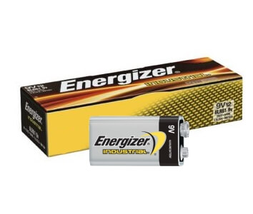 Bulk EN22 Energizer Industrial 9 Volt Battery for Sale