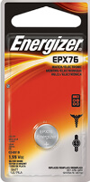Energizer EPX76 Silver Oxide Coin Cell Battery