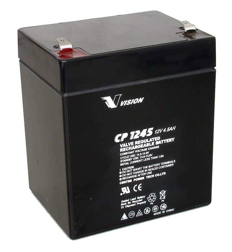 PS1250F2, CP1265A, Sealed Lead Acid Battery