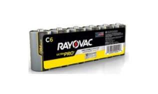 Rayovac Ultra Pro C Batteries sold in 6 packs