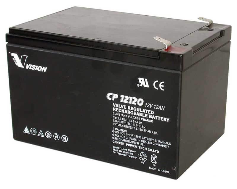 PS12120, CP12120 Sealed Lead Acid 12V/12.0AH