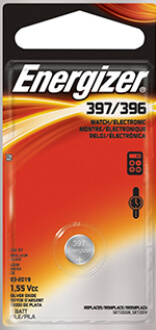 Energizer 397-396 Silver Oxide Coin Cell Battery