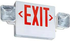 EXIT Sign  with Adjustable Emergency Exit Sign - CA-LEDCXTEU